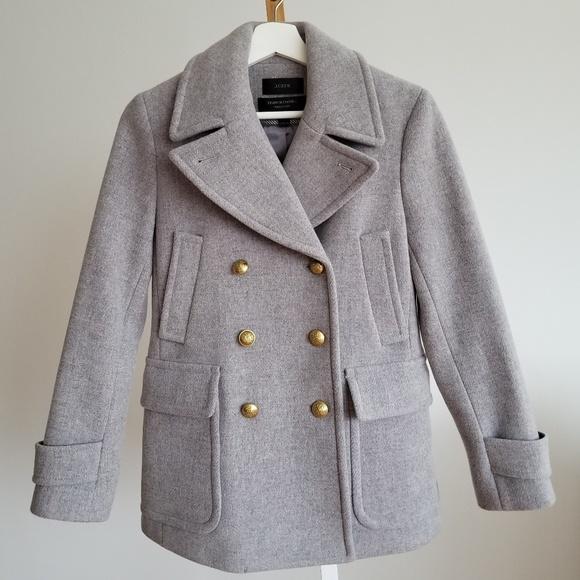 J. Crew Jackets & Blazers - 🍁 J.crew 80% wool coat!